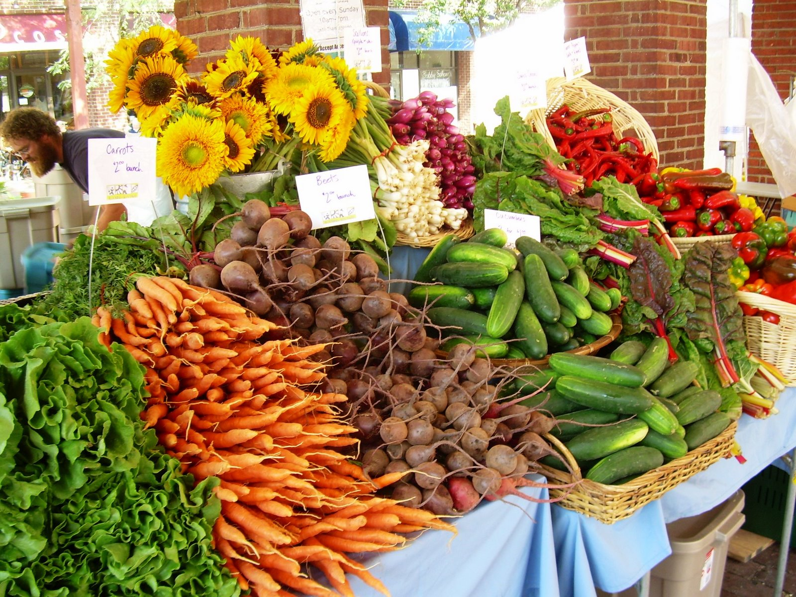 Stop by the Farmer's Market this Saturday the 26th from 9am-1pm